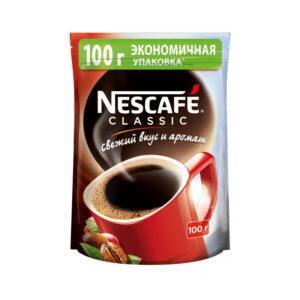 """Кофе растворимый<br><br>""""Nescafe"""" classic 100г"""